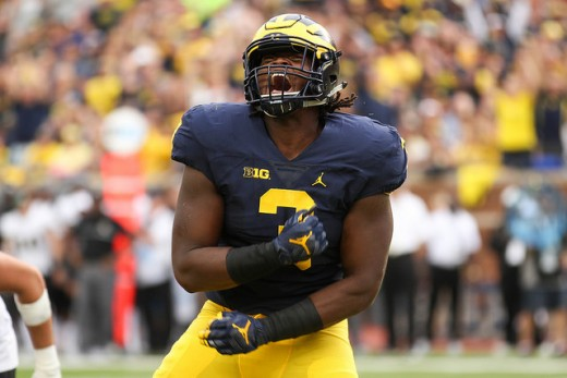 Rashan Gary enters 2018 as a potential top five pick in the 2019 NFL Draft