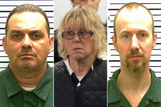 This woman befriended two inmates in NY