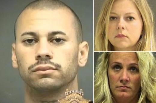 A male guard manipulated two female staff