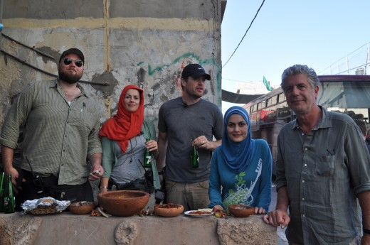 Yes, Anthony Bourdain in Gaza was more important that Kate Spade's designer handbags or shoes.