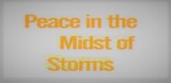 Clash of the Worlds: Peace in the Midst of Storms