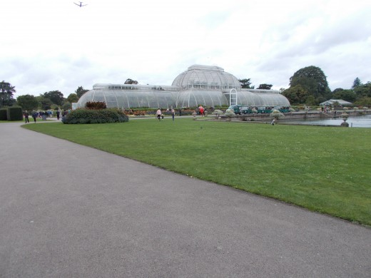 Never seen a Victorian style greenhouse quite like this before.