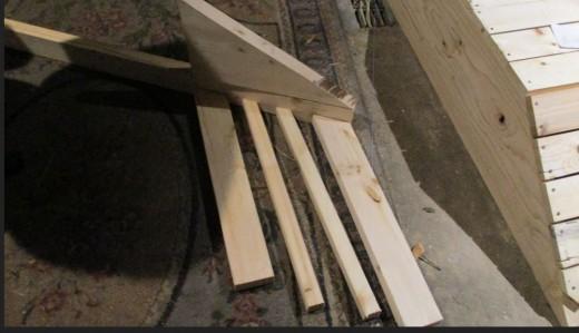 assemble each small rail