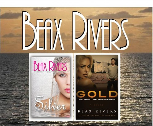 It took years, but I finally committed to writing and publishing my first novel, Silver: Currents of Change (Pen name, Beax Rivers) in a color-coded series. Now, I've published my second (Gold), and I'm finally completing my third (Brown Pearl)!