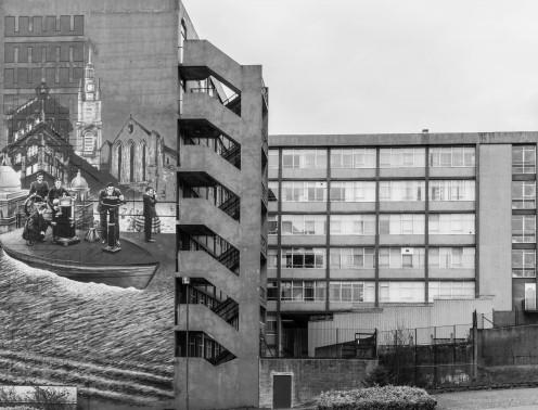 Art on building in Glasgow