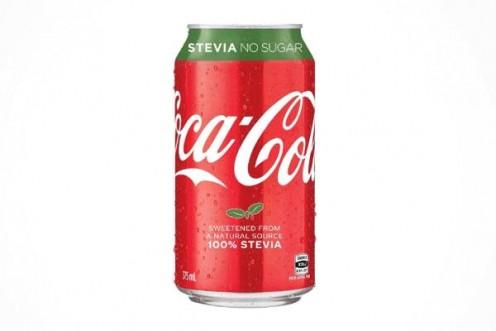 Coca Cola prototype made with 100% stevia