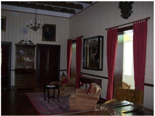 In the main house