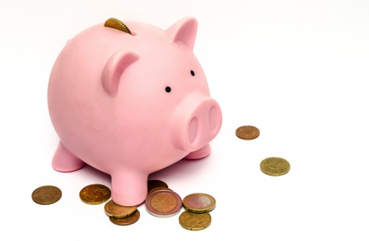 This little piggy saved money on his wedding.
