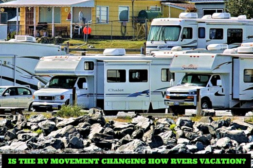 The positive and negative ways in which ever increasing numbers of RV owners are impacting the RV experience.