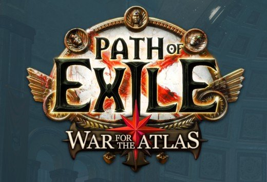 Screenshot of the logo from Path of Exile.