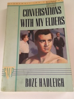 Retro Reading: Conversations With My Elders by Boze Hadleigh