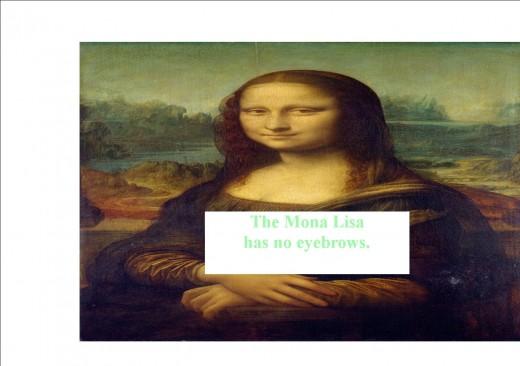 Poor Mona Lisa