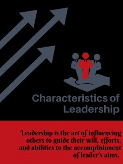 Characteristics of Leadership in an Organization