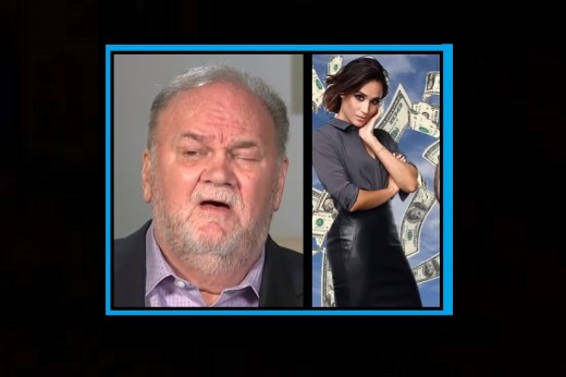 What was the reason Thomas Markle interviewed on a popular show in Britain?