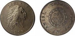The First Production American Minted Coins: The Liberty Cap and The Large Cent