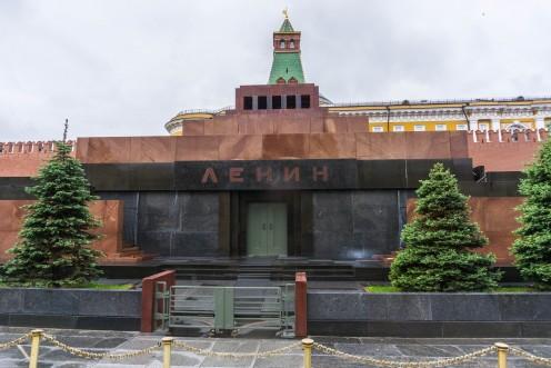 Lenin's Mausoleum in Red Square
