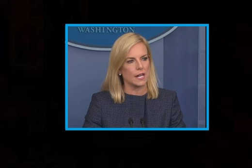 Department of Homeland Security Secretary Kirstjen Nielsen