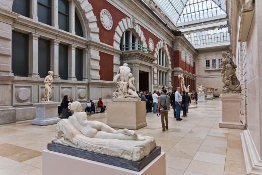 European Sculpture Court.