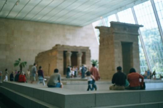 The Temple of Dendur, September 2001.