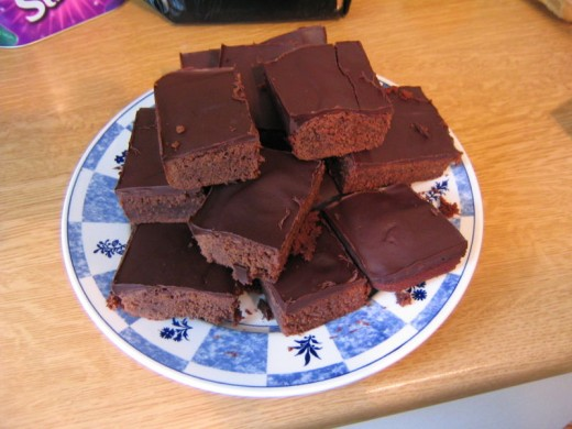 Marijuana Hash Brownies