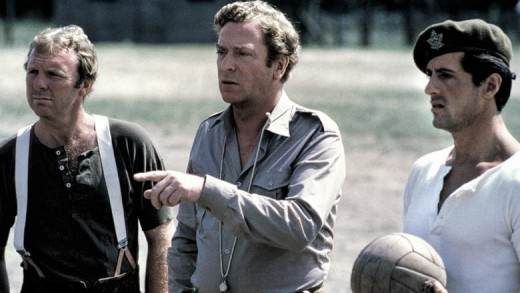 The film's use of established football stars like Moore (left) shatters any illusion the film hopes to create