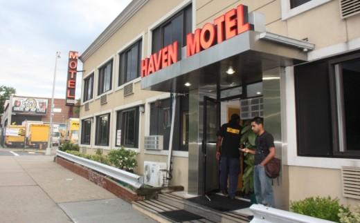 Haven Motel in Queens, a suburb of New York City, has a long-time reputation for drugs and prostitution.
