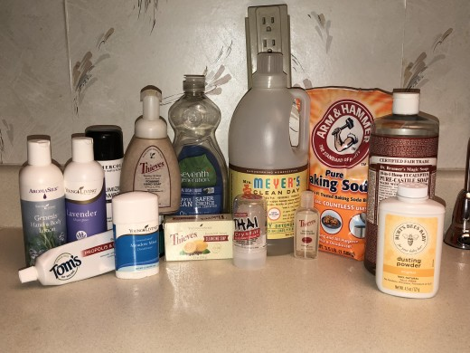 Natural Products for Personal Care and Household Use