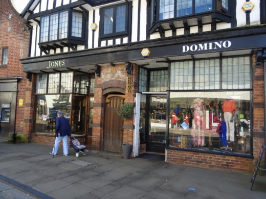 Speciality shops on Henley Street, Stratford -Upon- Avon