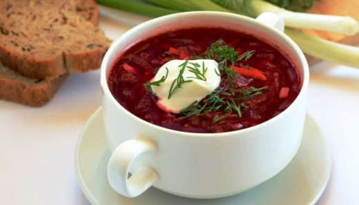 You don't have to be Russian to love Borscht
