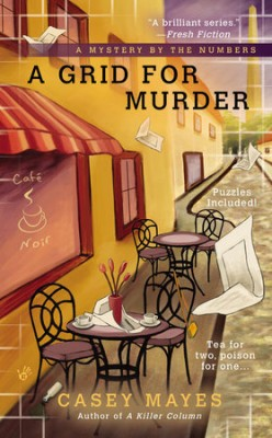 Book Review: A Grid For Murder by Casey Mayes