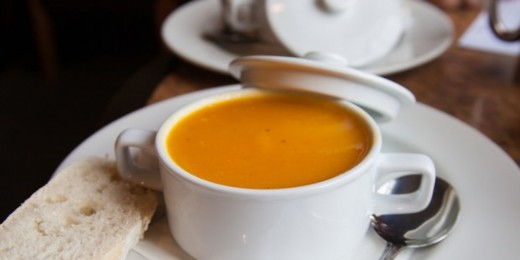 Roasted Butternut Squash and Pear Bisque is great for any time of year