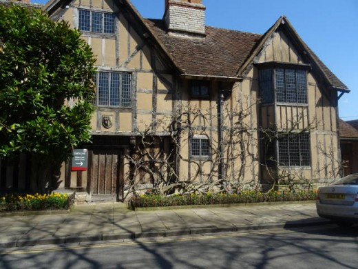 Hall's Croft, Stratford-upon-Avon. The home of Shakepeare's daugher Susannah and her husband, Doctor John Hall.