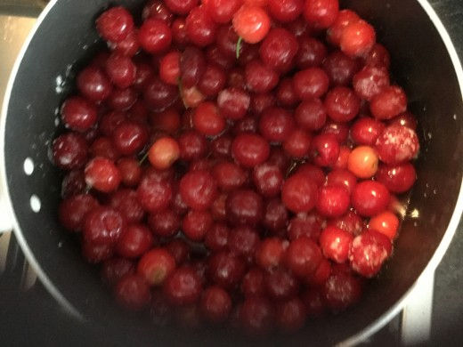 And more cherries