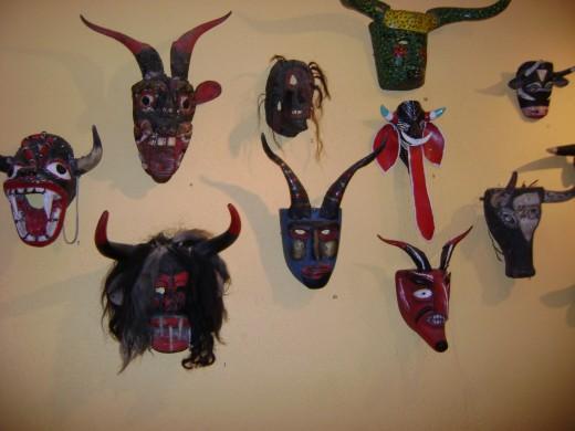 Yaquis Masks
