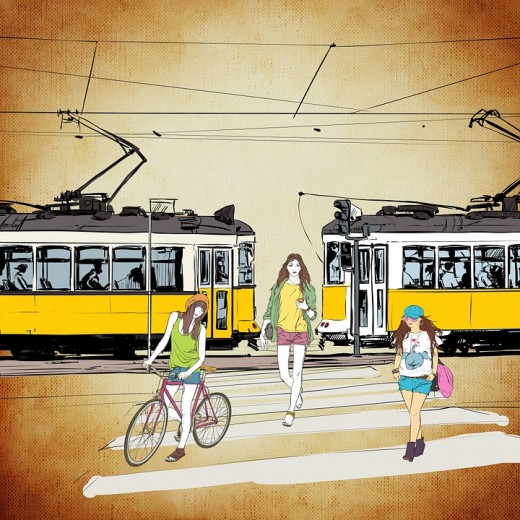 Walking, bicycling, busing, taking the train are only some of the transportation options open to those who don't want to drive.