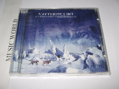 The album's cover shows a few wolves in the distance as the ground is covered in snow. Finland is cold for a large portion of the year.