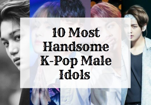 Top 10 Most Handsome K-Pop Male Idols