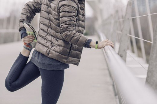 Make sure you bundle up if you choose to go running in the cold weather.