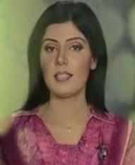 Sindh tv News caster Nida Abro