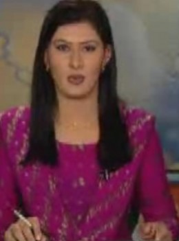Sindh tv News caster