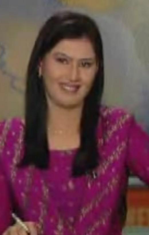 Sindh tv News caster