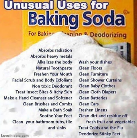 Baking soda is amazingly versatile.