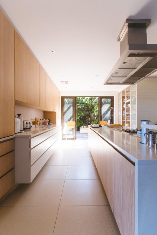 Corridor Type Kitchen Design