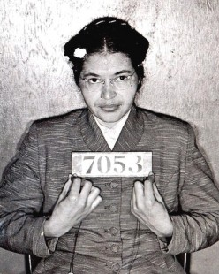 A Woman Takes a Seat for Civil Rights
