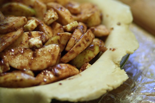 Apple pie taste without all the crust carbs!
