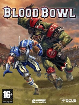 Blood Bowl game currently out overseas but yet to release in the United States. Same developers as Chaos League.
