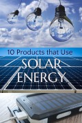 10 Products That Use Solar Energy