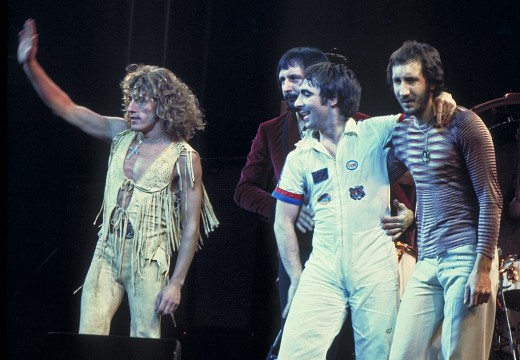 Roger Daltrey, John Entwistle, Keith Moon, Pete Townshend 1975