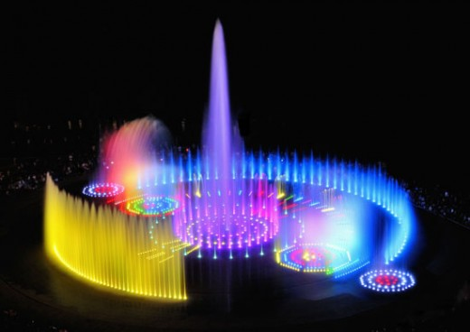 The Sunset Fountain of Dream, Busan, Korea