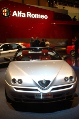 Alfa Spider, 2002 Birmingham International Motor Show (hey, since I'm dreaming, I might as well dream this also)